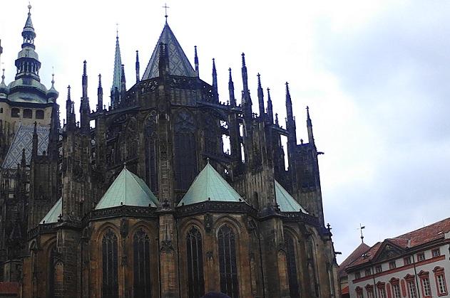 Восточная часть собора Св. Вита