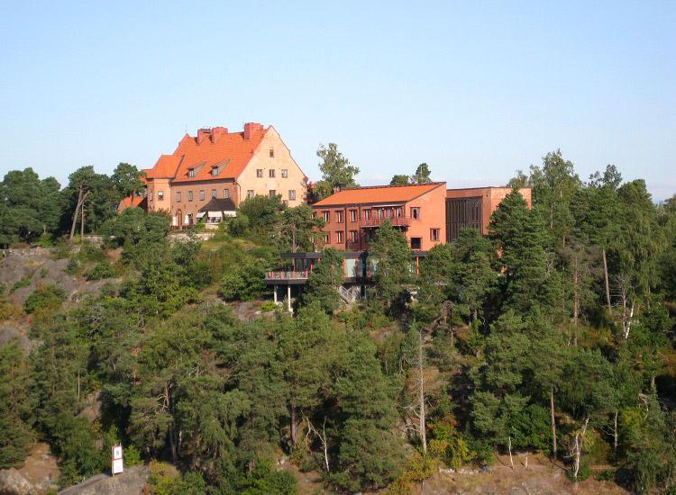 Швеция. Дом на острове
