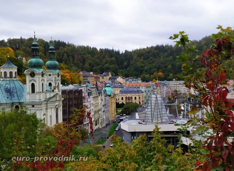 Карловы Вары - город-картинка