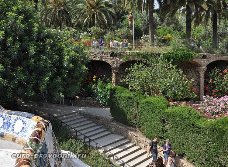 Оригинальный дизайн парка