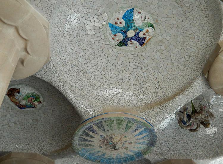 Гипостильный зал. Потолочная мозаика