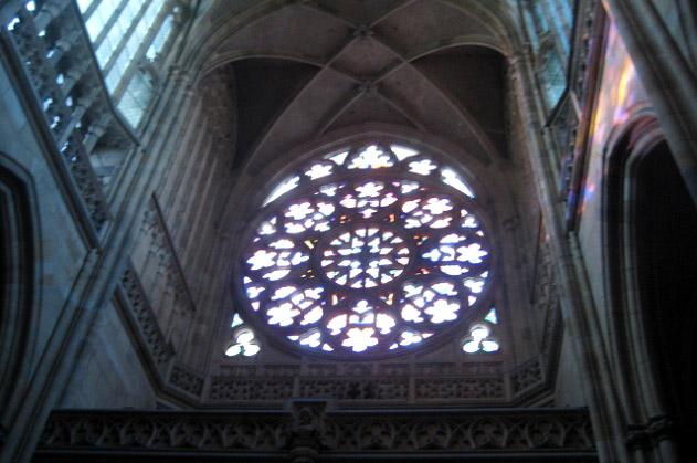 Окно-роза собора Св. Вита