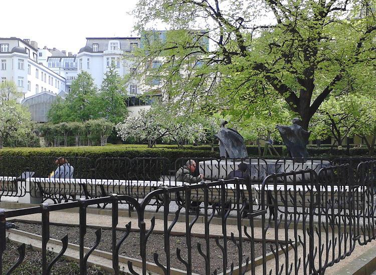 В Франтишканском саду