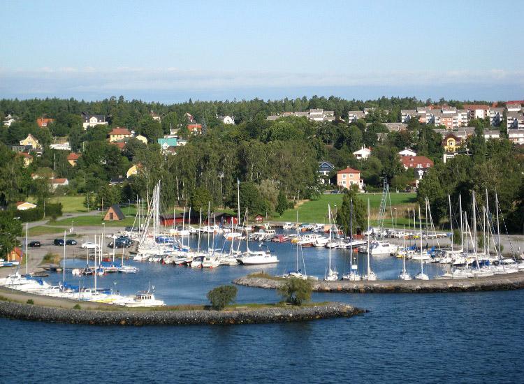 Швеция. Один из островов Стокгольмского архипелага