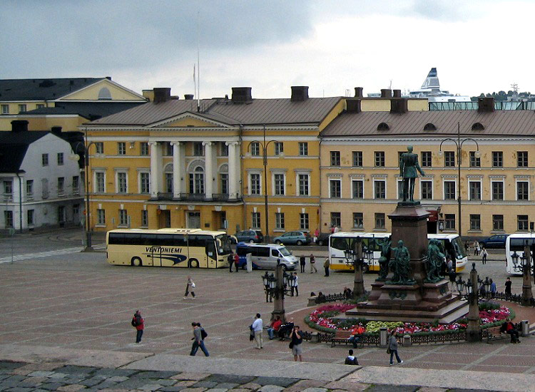Сенатская площадь. Памятник Александру II