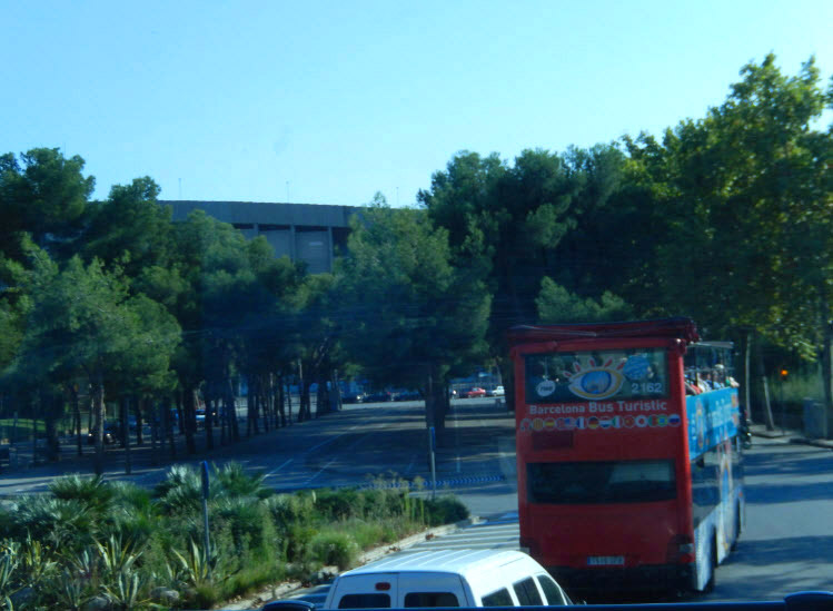 Барселона. Автобус Bus Turistic