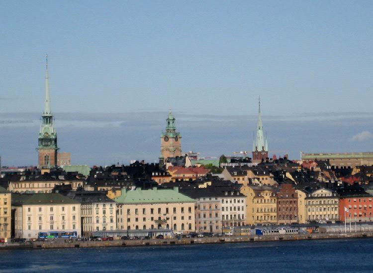 Стокгольм. Вид на Гамла Стан