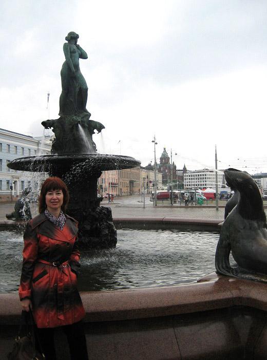 Хавис Аманда. Скульптор Вилли Валгрен