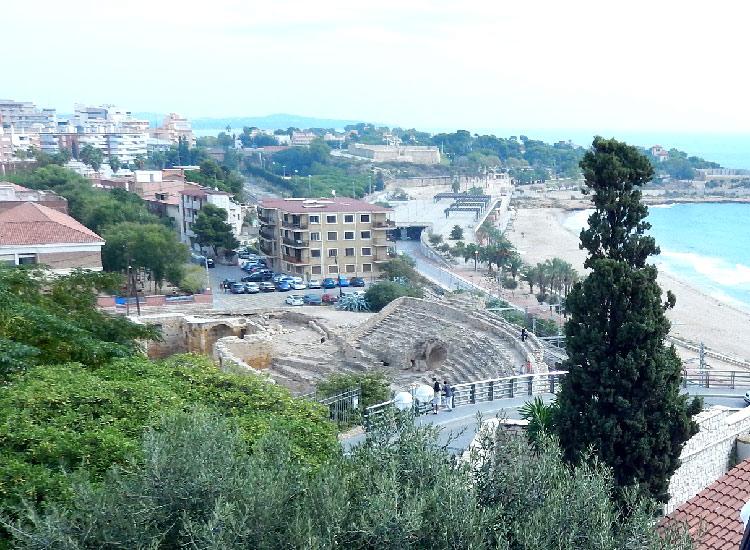 Таррагона. Древнеримский амфитеатр
