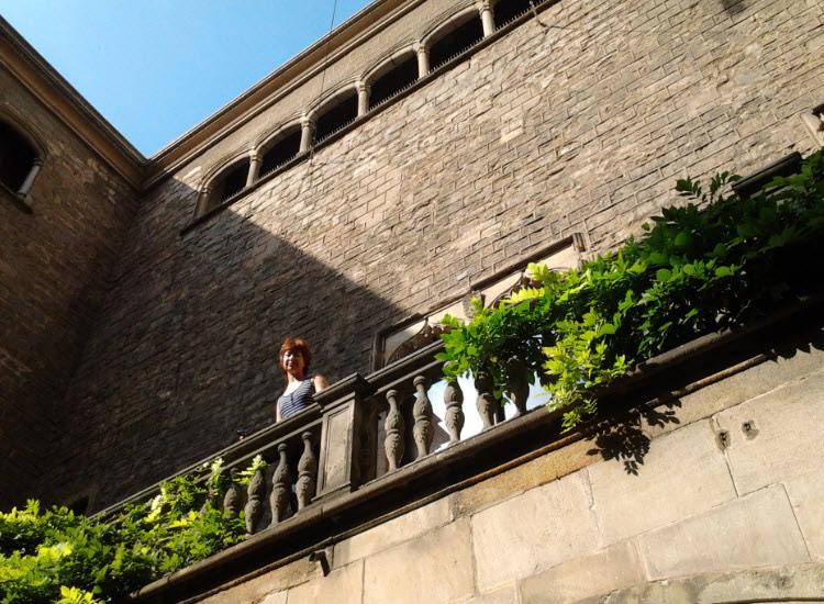 Балконы музея при соборе