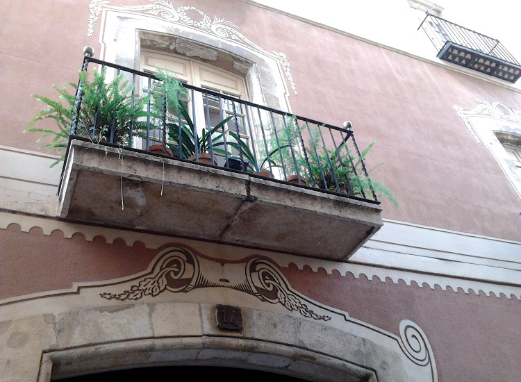 Балконы древней Таррагоны