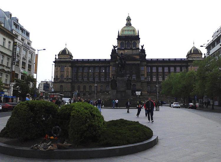 Вацлавская площадь. Национальный музей