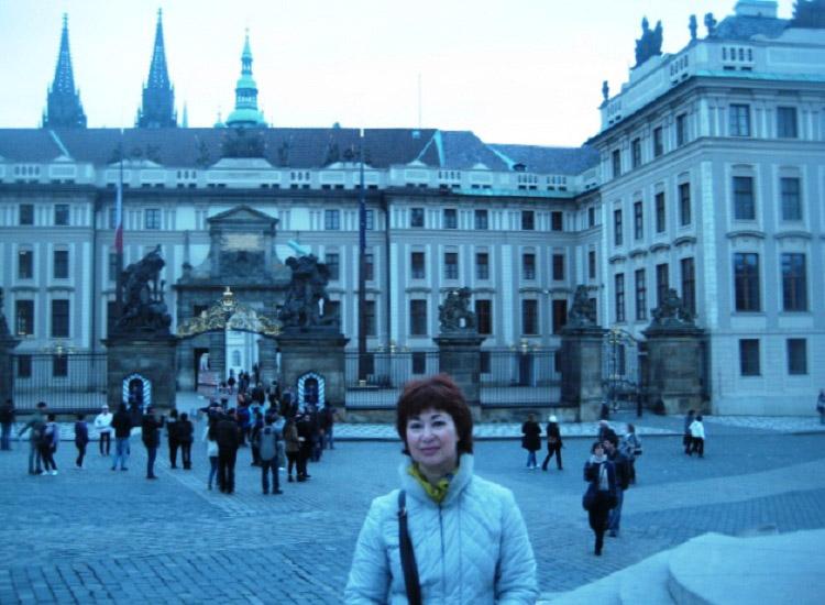 Градчанская площадь. Матиашовы ворота