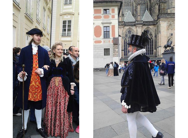 Главные действующие лица Пражского Града
