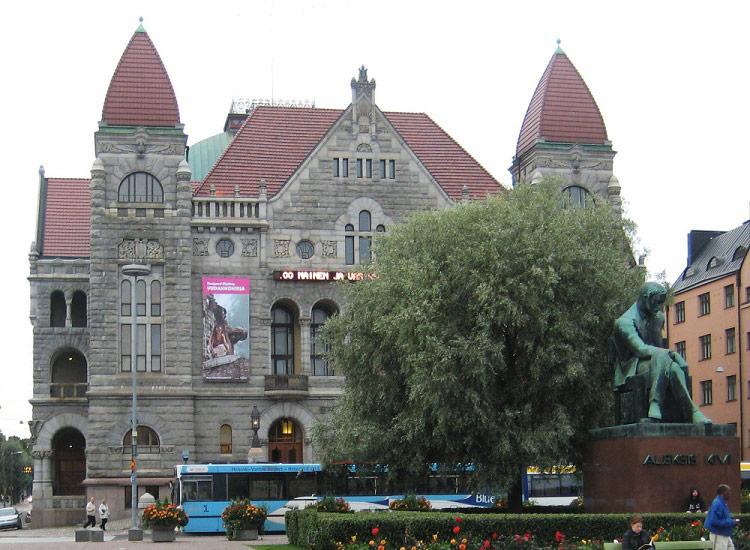 Хельсинки. Национальный театр