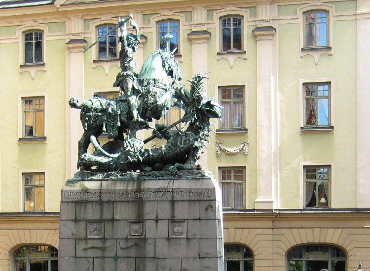 Скульптура Св. Георгия