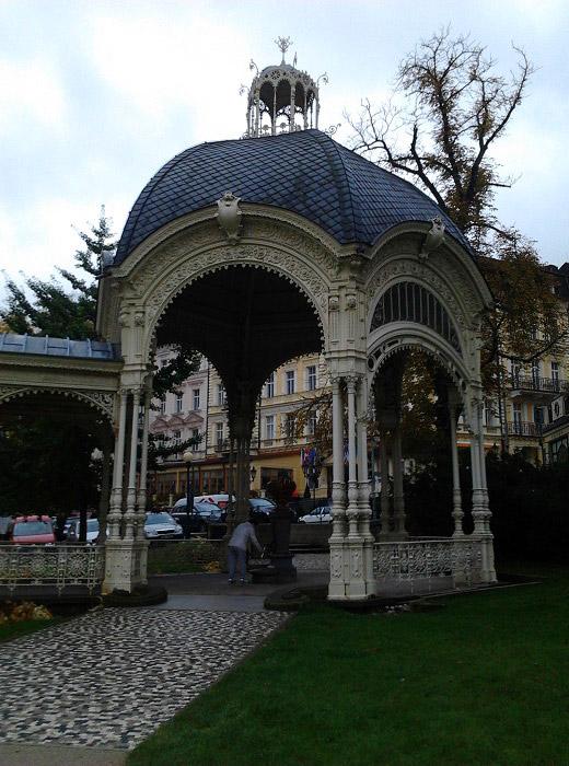Павильон Садовой колоннады