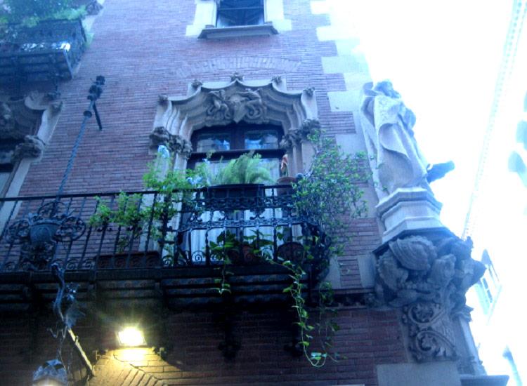 Барселона. В готическом квартале