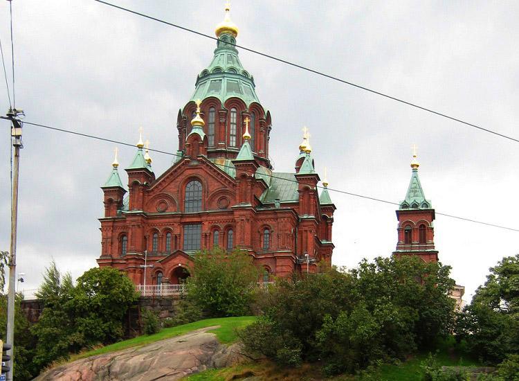 Хельсинки. Успенский православный собор
