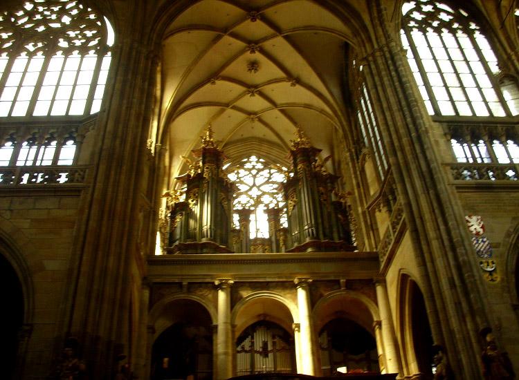 Орган собора Святого Вита