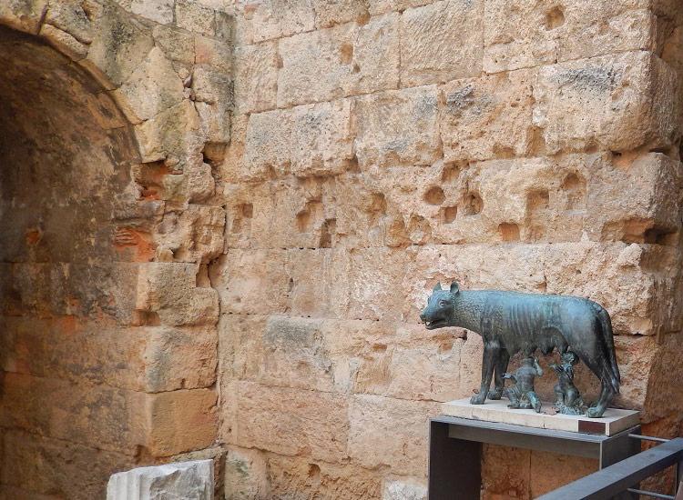 В историческом музее Таррагоны