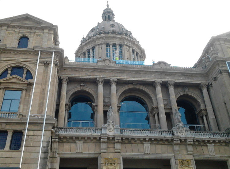 Фасад Национального дворца