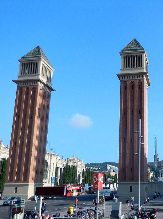 Барселона. Венецианские башни