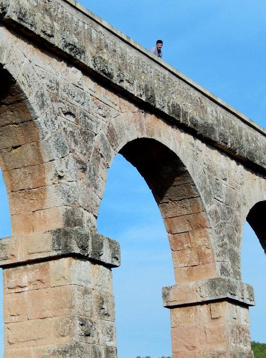 Верх акведука