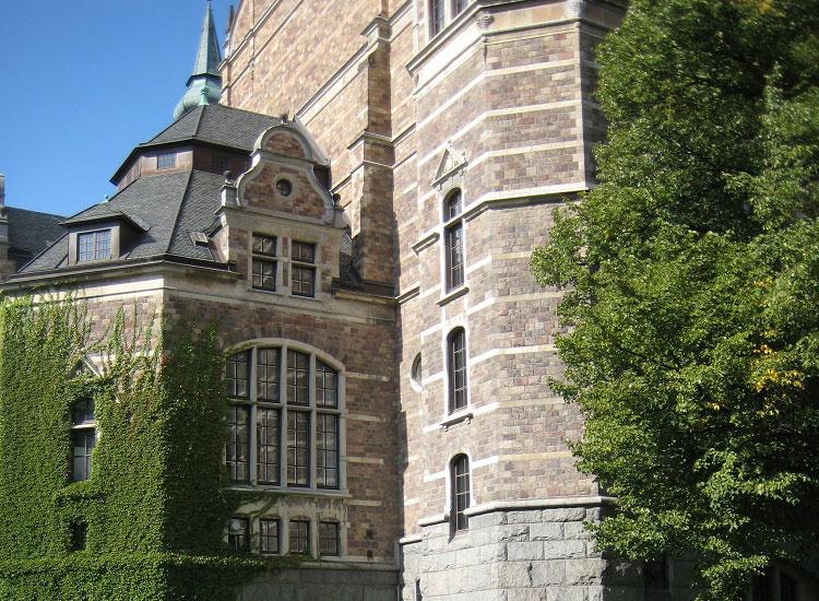 Здание музея Nordiska