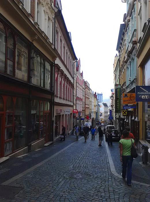 Либерец. Пражская улица