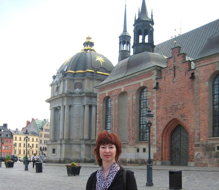 Риддархольмен. Церковь XIII века