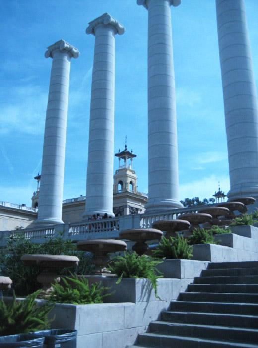 Барселона. Римские колонны