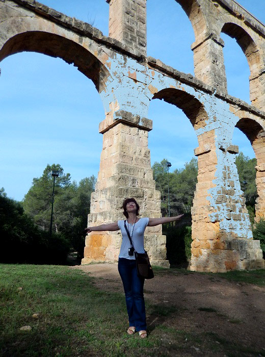 Прогулка вокруг акведука