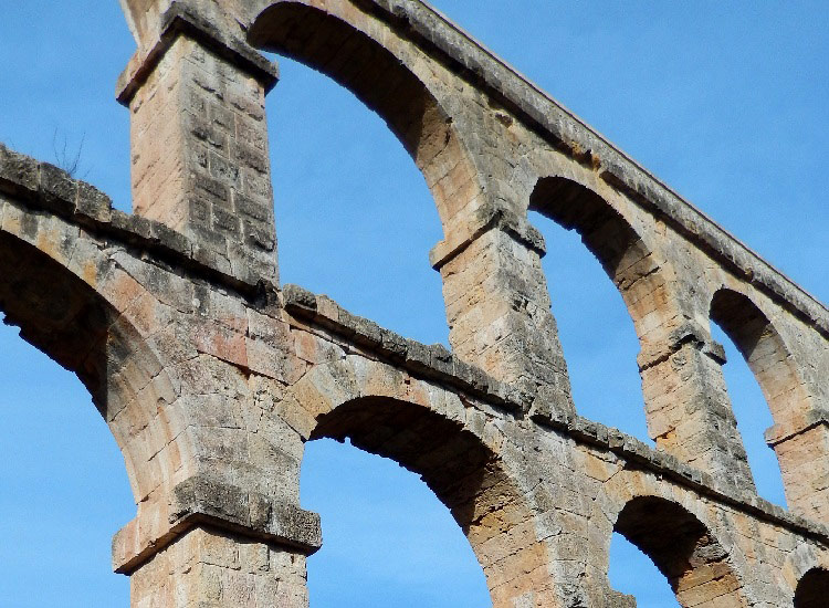Фрагмент акведука