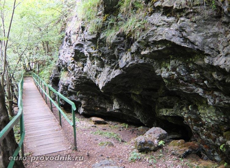 скалы Риегровой стежки