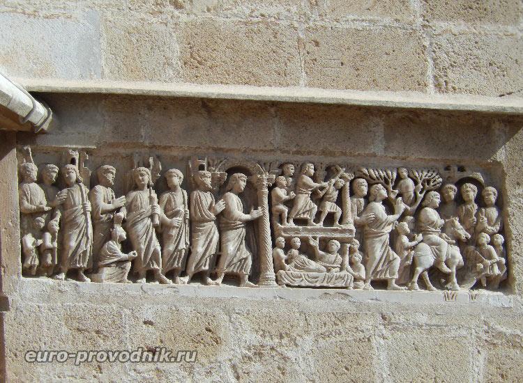 Барельеф саркофага, IV век
