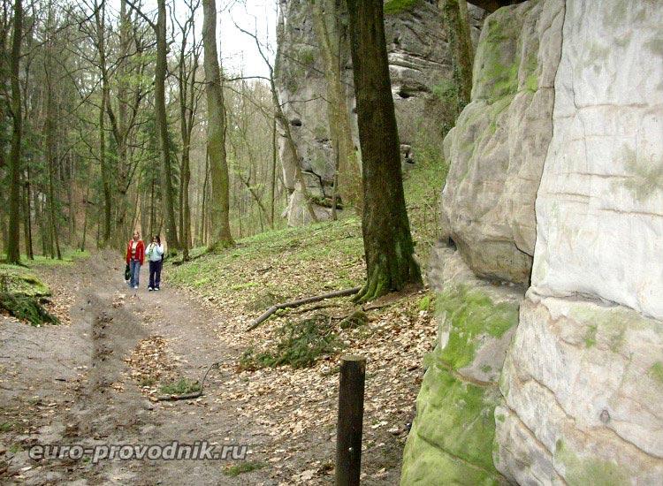 Прогулка среди Грубых Скал