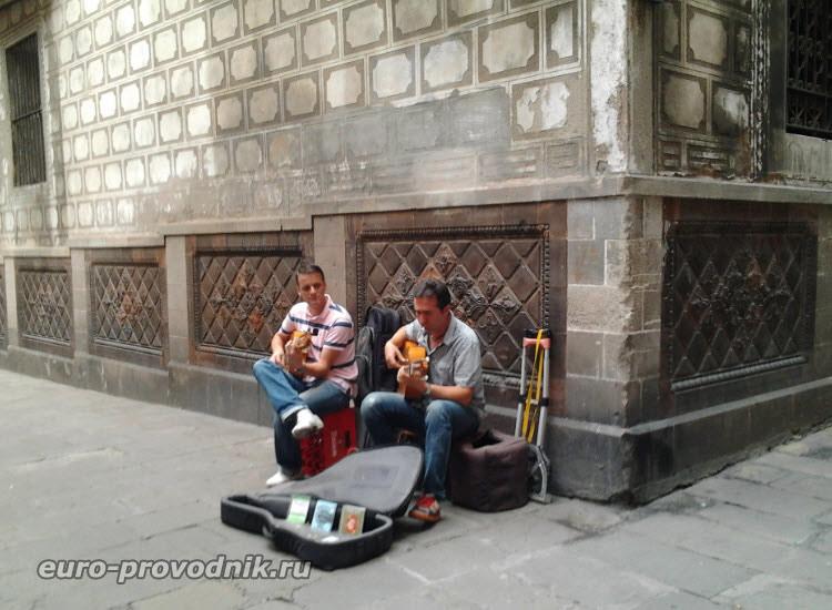 Гитаристы готического квартала