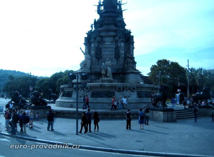 Пьедестал монумента