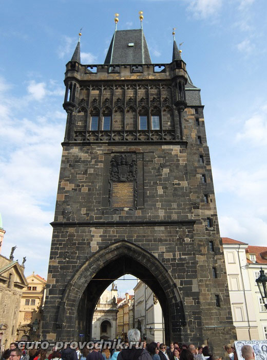 Западная сторона Староместской башни