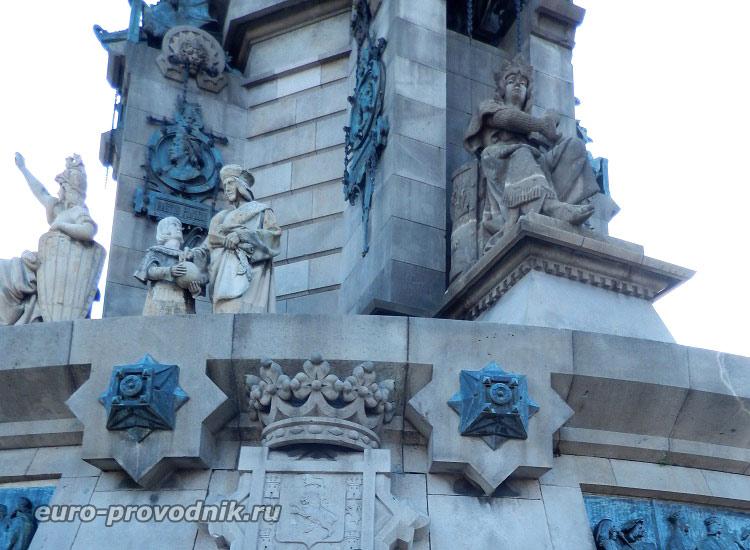 Монумент в деталях