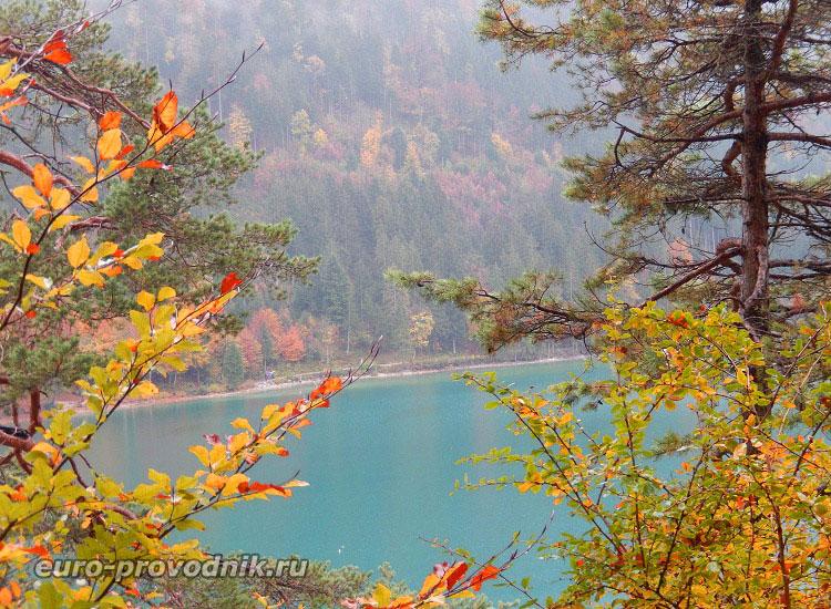 Озеро Alpsee