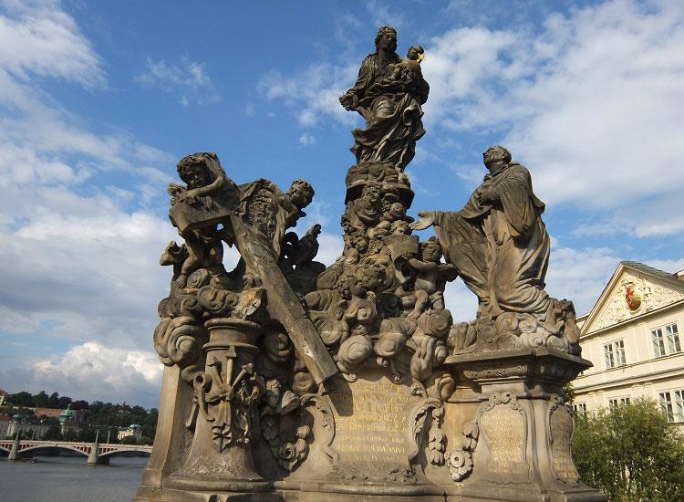 Карлов мост. Мадонна и Св. Бернард