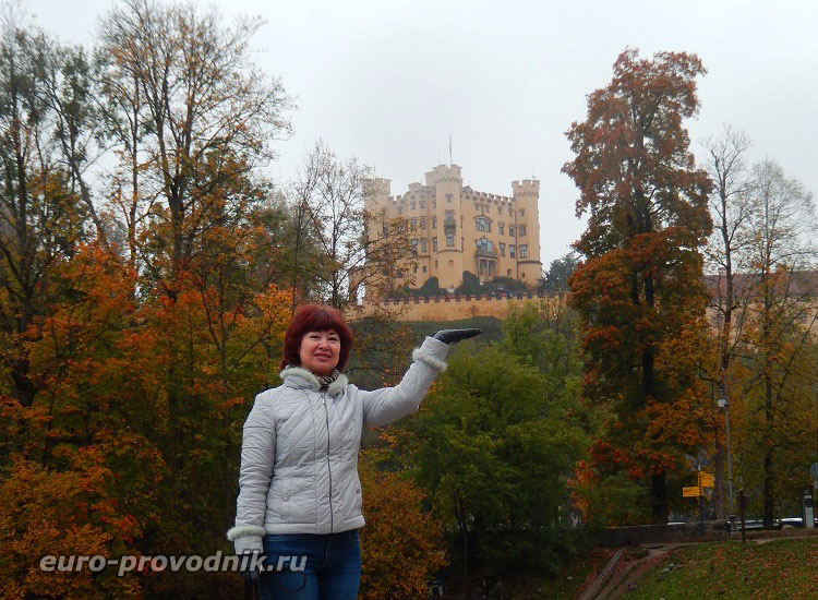 Замки Баварии. Хоэншвангау