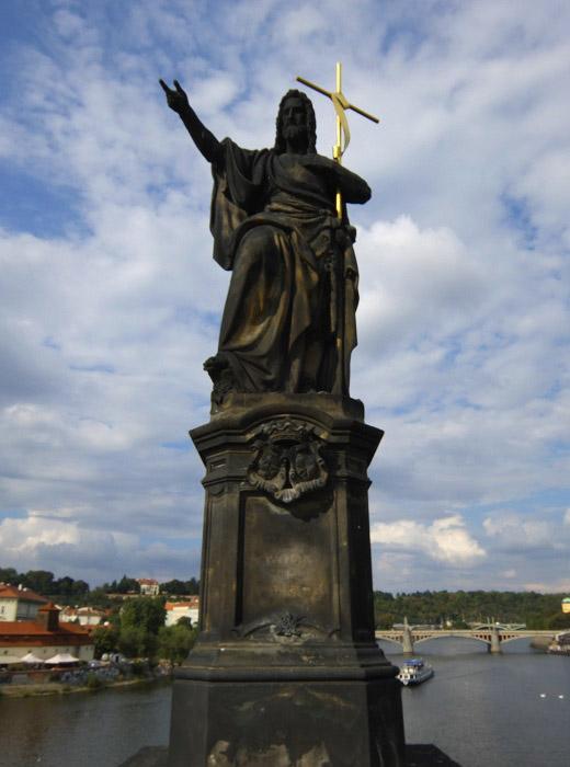 Карлов мост. Иоанн Креститель