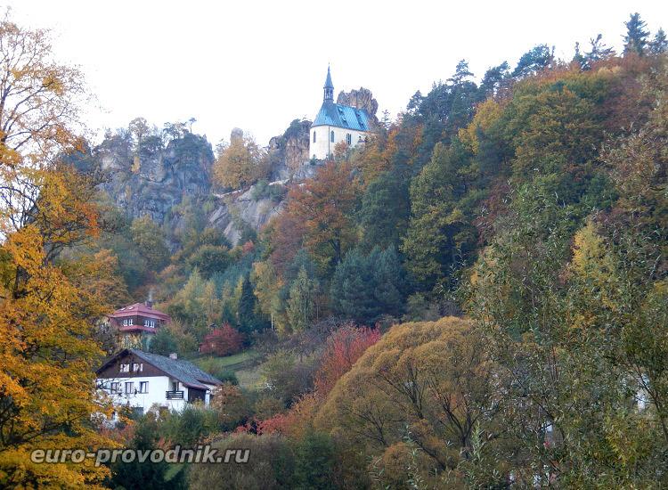В заповеднике Чешский Рай