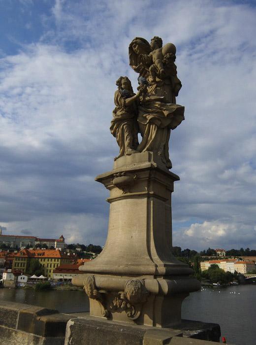 Карлов мост. Святая Анна