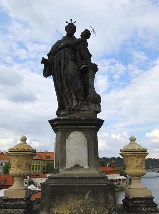 Карлов мост. Святой Антоний
