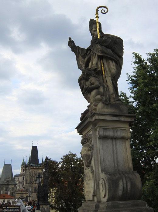Карлов мост. Святой Августин