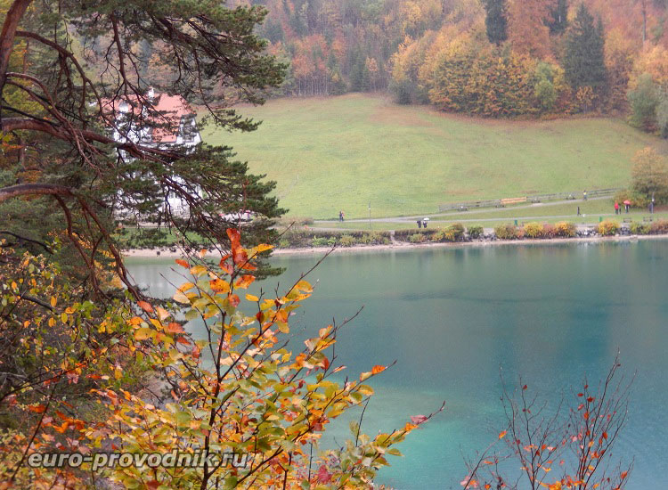 Озеро Альпзее